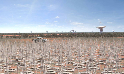 SKA radio telescope array